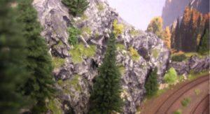 bjerge til modelbane