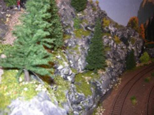 Træer til modeltogbane