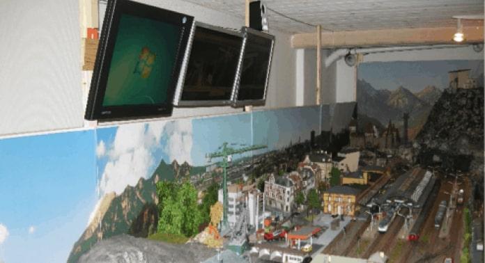 styring af tv skærme