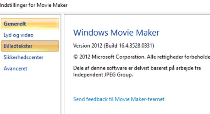 windows movie maker 12