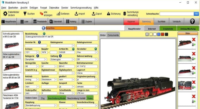 gs modellbahn verwaltung 8 software