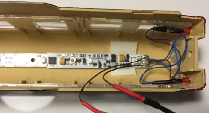 montering af belysningsmodul