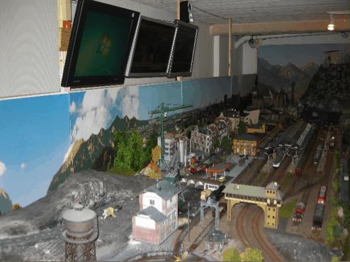 Modeltog-overvågning