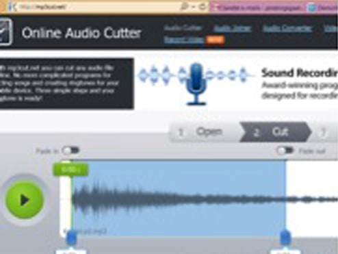 Online-audio-cutter