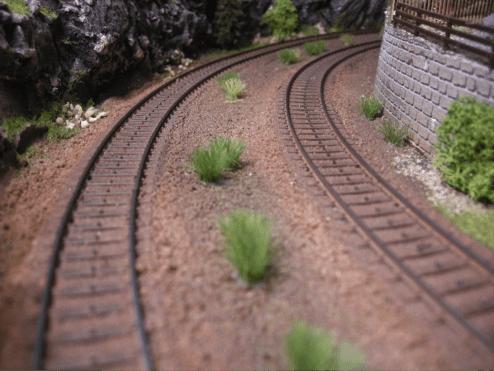 Sporlægning på modeltogbane