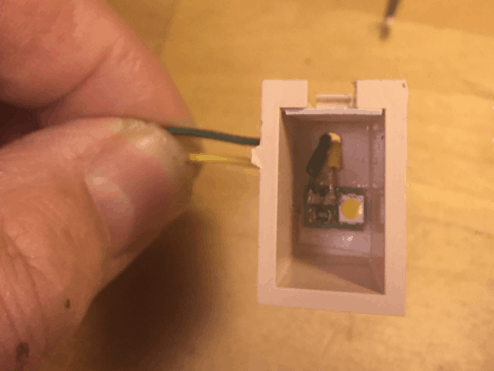 Viessmann 6006 lysdiode