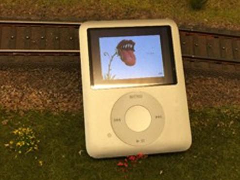 iPod storskærm