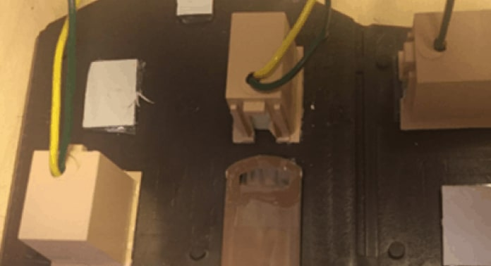 lyskasse montering på gavl