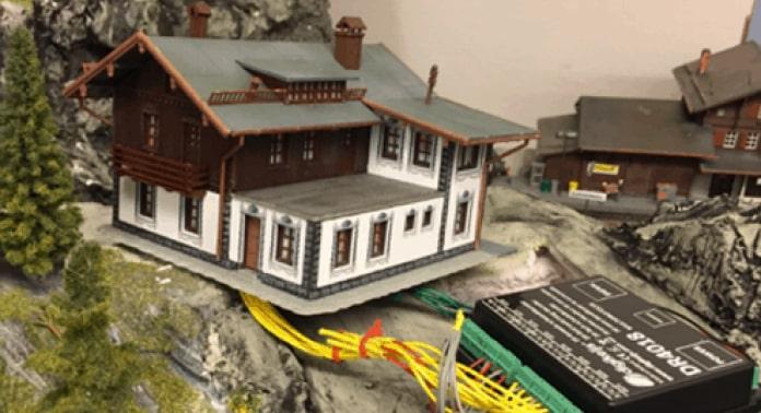 montering af hus med dekoder
