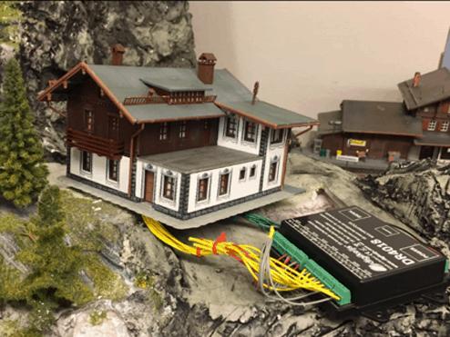 montering af hus