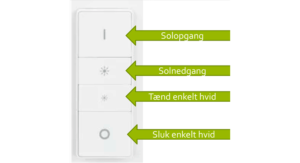 HUE switch konfiguration