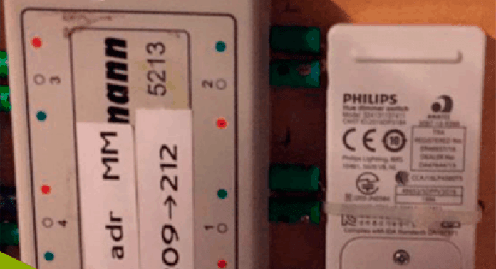 switch kobles til M84 dekoder