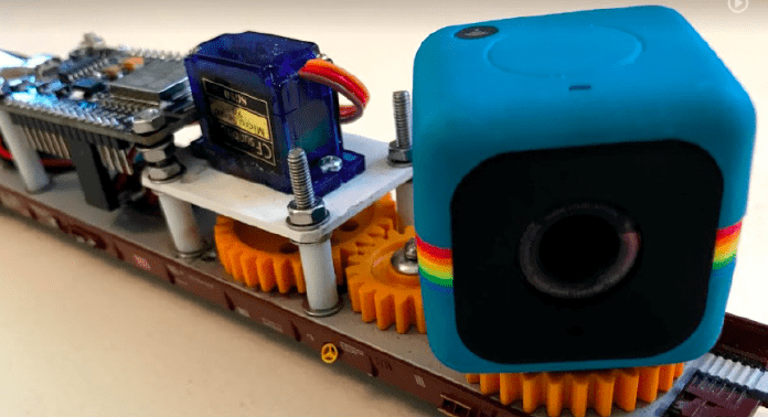 kameravogn med panorering