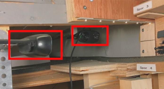 videoovervågning af sporskifte