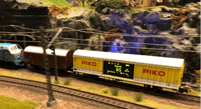 hastighedsmåling på piko-vogn